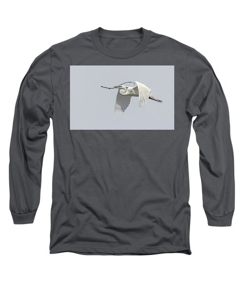 Great Egret 1 Long Sleeve T-Shirt