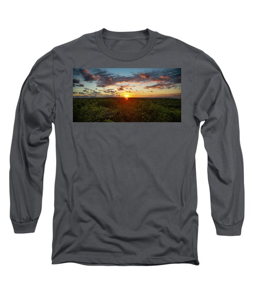 Great Exuma Sunrise Long Sleeve T-Shirt