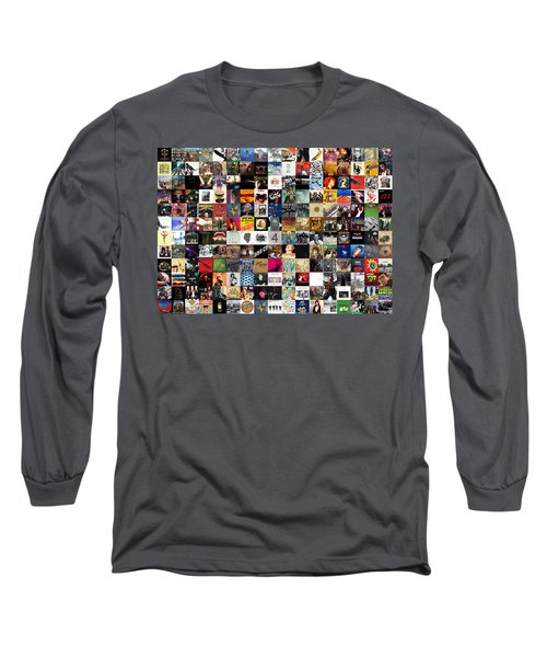 Greatest Rock Albums Of All Time Long Sleeve T-Shirt