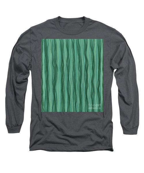 Green Stripes Long Sleeve T-Shirt