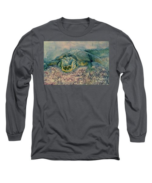 Grinning Gator Long Sleeve T-Shirt