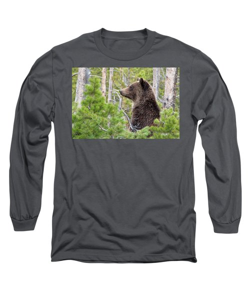 Grizzly Profile Long Sleeve T-Shirt