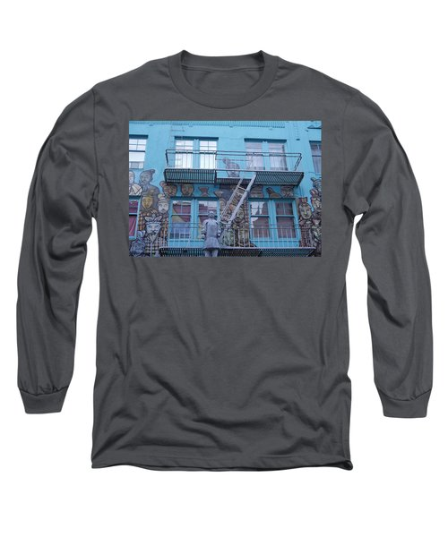 Guarding The Stairs Long Sleeve T-Shirt