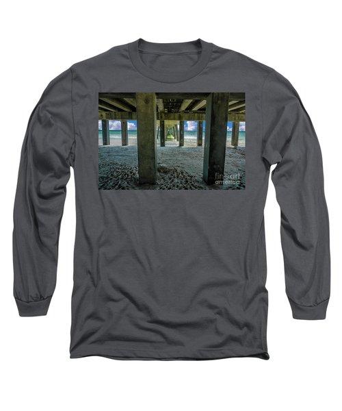 Gulf Shores Park And Pier Al 1649b Long Sleeve T-Shirt