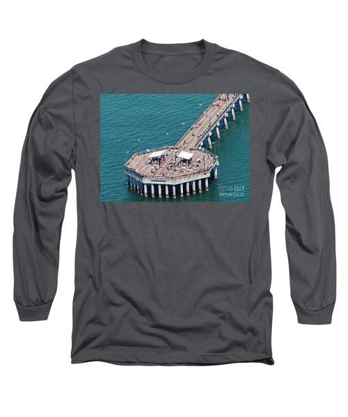 Gulf State Park Pier 7467 Long Sleeve T-Shirt