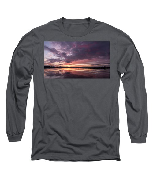 Halifax River Sunset Long Sleeve T-Shirt