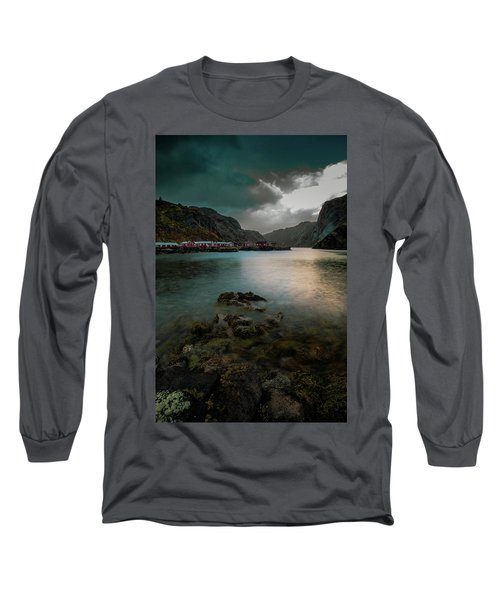 Hamnoy, Lofoten Islands Long Sleeve T-Shirt