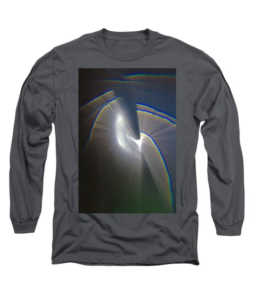 Happy Accident 1 Grey Long Sleeve T-Shirt