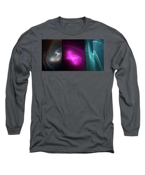 Happy Accident Triptych Long Sleeve T-Shirt