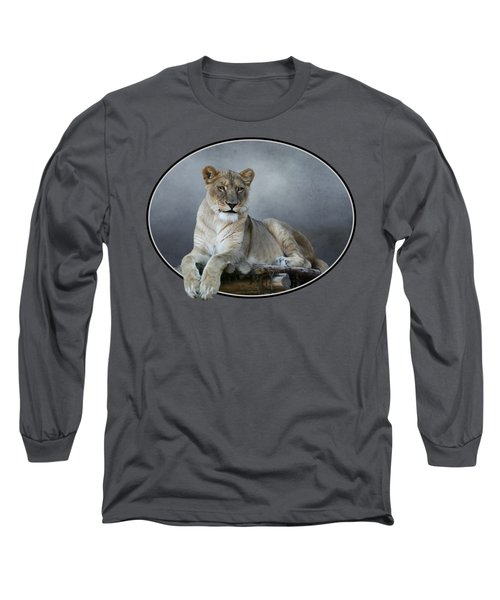 Happy Lioness Long Sleeve T-Shirt