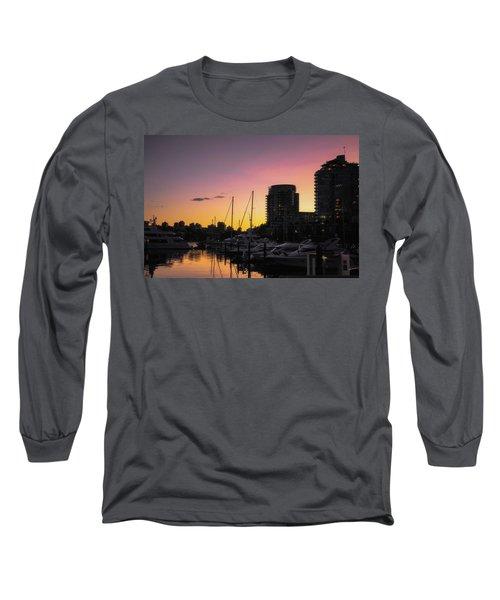 Harbour Sunset Long Sleeve T-Shirt
