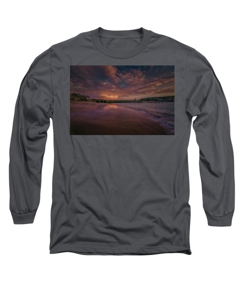 Harbour Sunset - St Ives Cornwall Long Sleeve T-Shirt