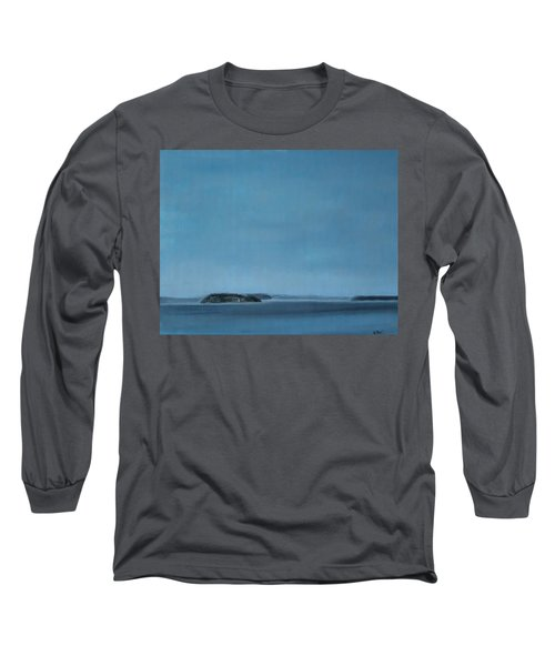Hat Island View From Harborview Park Long Sleeve T-Shirt