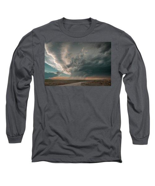 Hay Springs Ne Supercell Long Sleeve T-Shirt