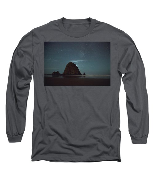 Haystack Under The Stars Long Sleeve T-Shirt