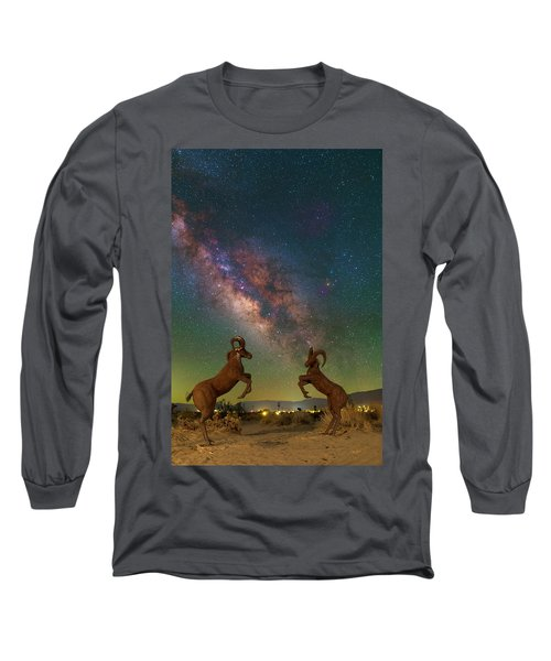 Head To Head With The Galaxy Long Sleeve T-Shirt