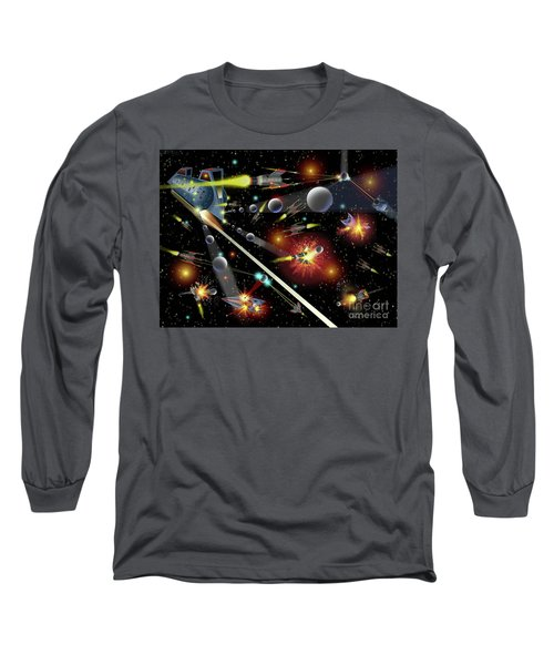 Hell In Space Long Sleeve T-Shirt