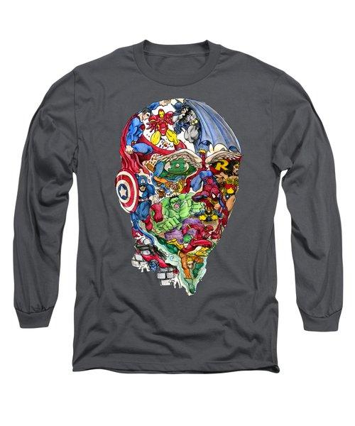 Heroic Mind Long Sleeve T-Shirt