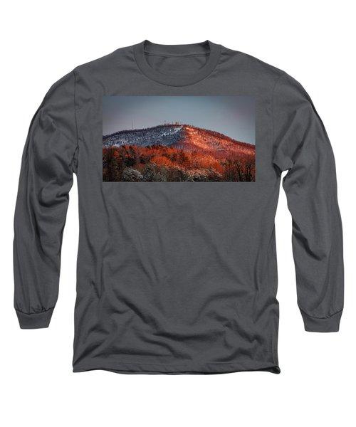 Hibriten Mountain - Lenoir, North Carolina Long Sleeve T-Shirt
