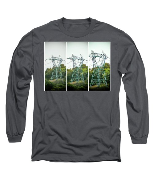 High-voltage Power Transmission Towers 1 Long Sleeve T-Shirt