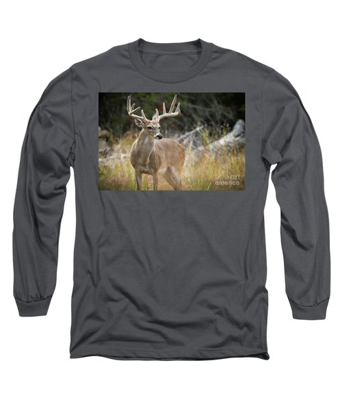 Hill Country Whitetail Long Sleeve T-Shirt