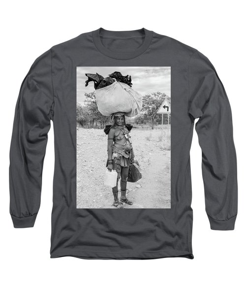 Himba Woman 3 Long Sleeve T-Shirt