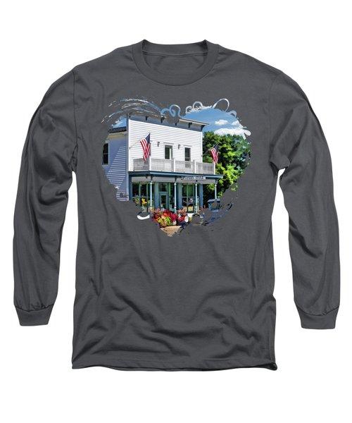 Historic Pioneer Store In Ellison Bay Door County Long Sleeve T-Shirt