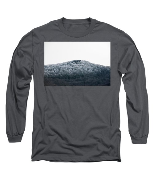 Hoarfrost On The Mountain Long Sleeve T-Shirt