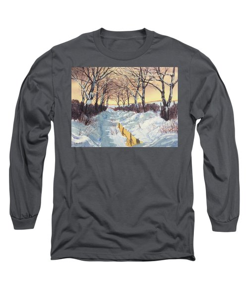 Tunnel In Winter Long Sleeve T-Shirt