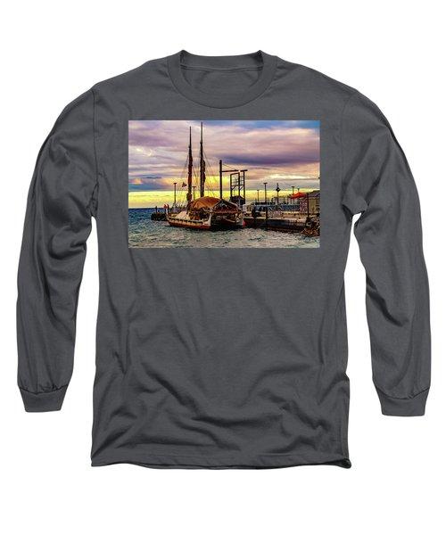 Hokulea Docked Long Sleeve T-Shirt