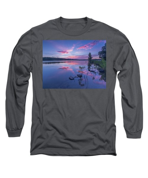 Horn Pond Sunset Long Sleeve T-Shirt
