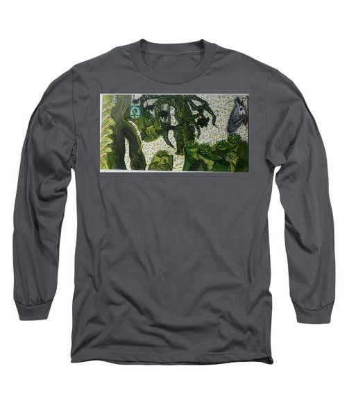 Humanity Waits Long Sleeve T-Shirt