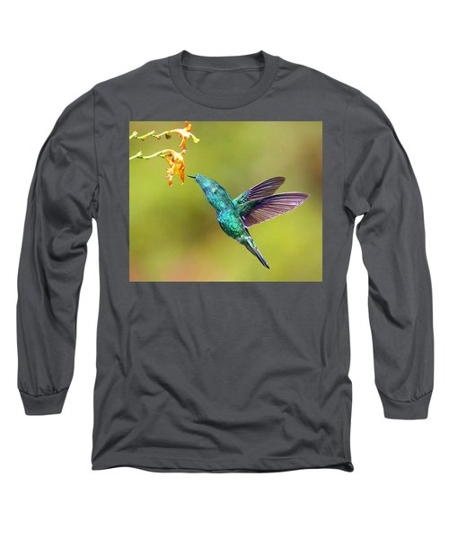 Humhum Bird Long Sleeve T-Shirt