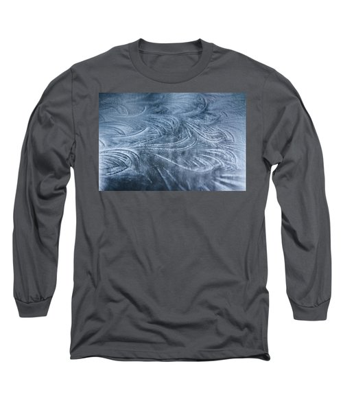 Ice Crystals Long Sleeve T-Shirt