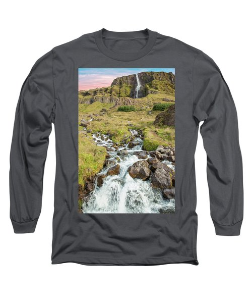 Iceland Waterfall Long Sleeve T-Shirt