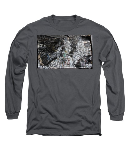 Immersed And Flawed By Cash Flow Long Sleeve T-Shirt