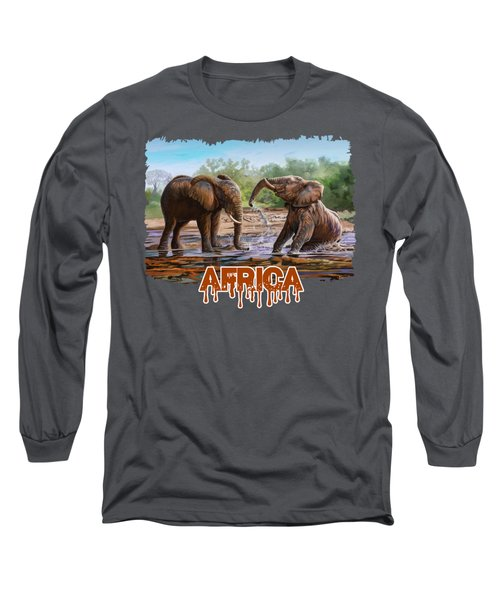 In The Muddy Pool Long Sleeve T-Shirt