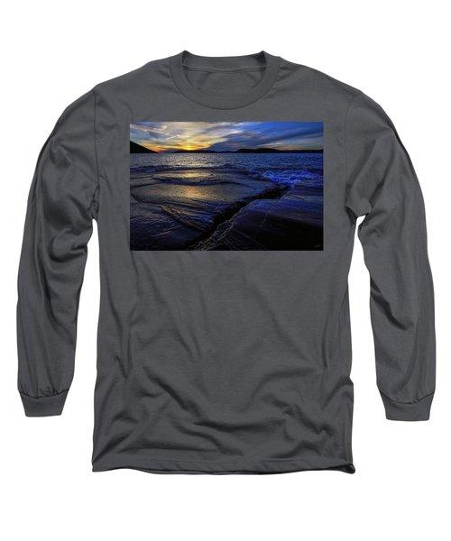 Indigo Long Sleeve T-Shirt