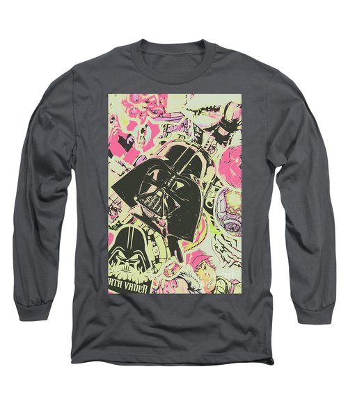 Intergalactic Planetary Pop Art Long Sleeve T-Shirt