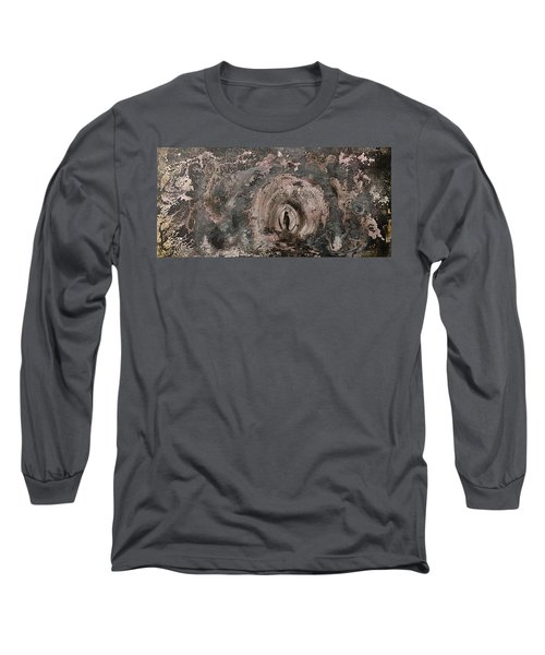 Long Sleeve T-Shirt featuring the painting Into The Fog by 'REA' Gallery