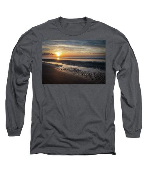 Isle Of Palms Morning Patterns Long Sleeve T-Shirt