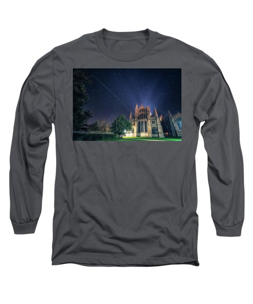 Iss Over Ely Cathedral Long Sleeve T-Shirt