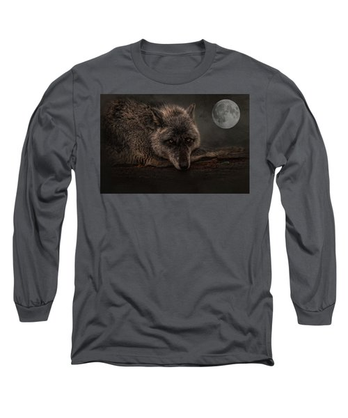 Its A Lonely Night  Long Sleeve T-Shirt