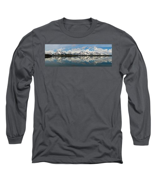 Long Sleeve T-Shirt featuring the photograph Jackson Lake by Mary Hone