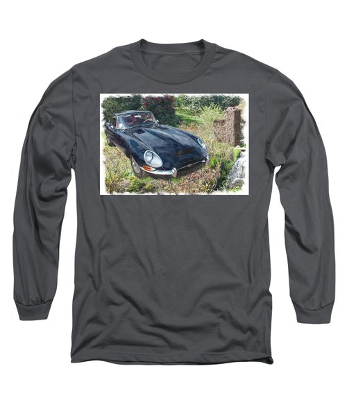 Jaguar E Type Long Sleeve T-Shirt