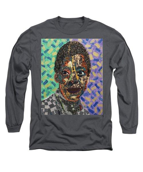 James Baldwin The Fire Next Time Long Sleeve T-Shirt