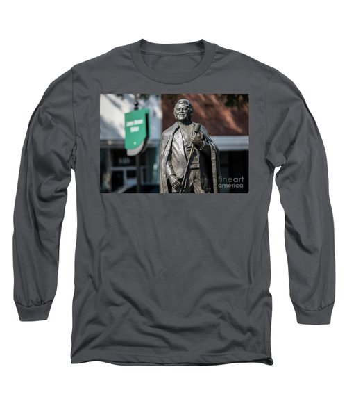 James Brown Statue - Augusta Ga Long Sleeve T-Shirt