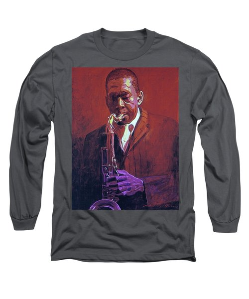 John Coltrane Long Sleeve T-Shirt