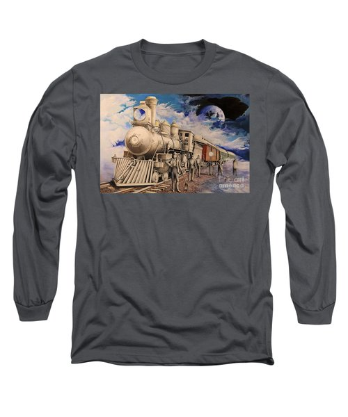 Journey Through The Mists Of Time Long Sleeve T-Shirt