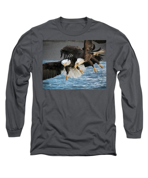Jousting Eagles Long Sleeve T-Shirt